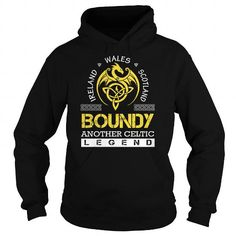 I Love BOUNDY Legend - BOUNDY Last Name, Surname T-Shirt T shirts