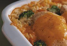 Recette Poulet crémeux et riz cuits au four - Coup de Pouce