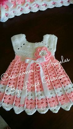 Crochet summer dress girl beautiful 38 ideas for 2019 Crochet Summer Hats, Crochet Summer Dresses, Crochet Girls, Summer Knitting, Knit Crochet, Dress Summer, Crochet Baby Dress Free Pattern, Crochet Baby Clothes, Baby Knitting Patterns