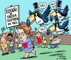 Tucanos tentam boicotar medidas de Dilma para baixar preço da energia