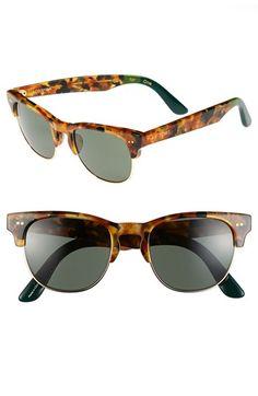 TOMS 'Lobamba' 50mm Sunglasses Panama Tortoise O