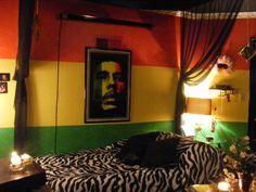 I'm thinking of a Rasta themed room.