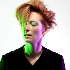 Tilda Swinton being awesome mostly with great hair.