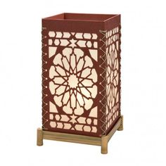 Rose Window Mood Lamp - Lamps & Lampshades - Home Accents - 10 thousand villages Champaign