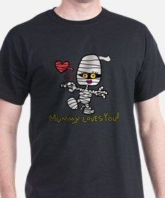 Halloween Mommy Mummy T-Shirt for