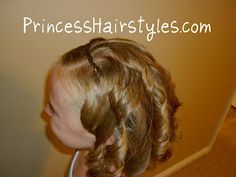 Easy and quick braided headband tutorial.  For short hair as well as long!