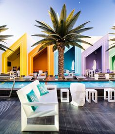 The Matisse Beach Club by Oldfield Knott architects