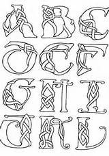 Celtic Letters and Numbers - Celtic Alphabet
