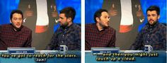 Probably one of the best things I ever heard. So funny! Jon Richardson and Jack Whitehall on 8 out of 10 cats does countdown British Humour, British Comedy, Jon Richardson, 8 Out Of 10 Cats, Jack Whitehall, Funny Men, Reaching For The Stars, Man Humor, Comedians