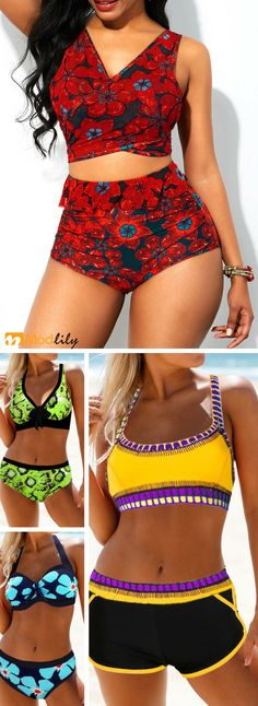Enjoy a fun summer getaway by wearing a chic bikini. Be stunning and hot this se., BEACH OUTFİTS, Enjoy a fun summer getaway by wearing a chic bikini. Be stunning and hot this season. Cool Outfits, Summer Outfits, Fashion Outfits, Fashion Fall, Fashion Trends, Summer Swimwear, Bikini Swimwear, Cute Bathing Suits, Cute Swimsuits