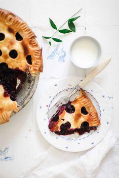 Rezept für Blueberry Pie – Blaubeeren die sich im sommerlichen Mürbeteig Himmel befinden