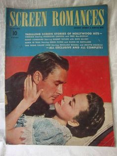 Vtg. Screen Romances Jan. 1941 Errol Flynn Olivia De Havilland cv Ginger Rogers