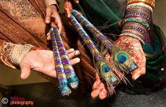 For the Punjabi-Bhangra and the Gujarati Dandiya-Raas, India Wedding Stage, Wedding Events, Dream Wedding, Weddings, Mothers Day Drawings, Gujarati Wedding, Mehndi Ceremony, Henna Night, Peacock Wedding