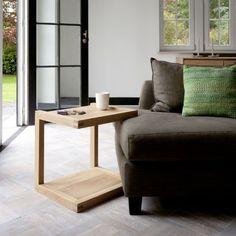 Ethnicraft Oak Frame Side Table