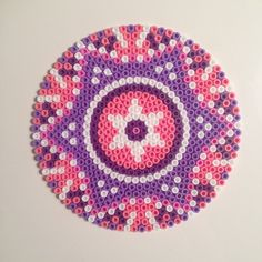 Mandala hama perler beads by bingstrom