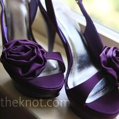 Purple Shoes!