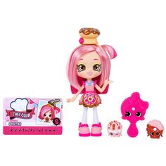 "Shopkins - Poupée Shoppies Chef Club - serie 3 - Donatina - Imports Dragon - Toys""R""Us"