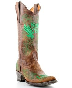 University of North Texas Gameday Cowboy Boots