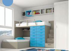 Dormitorio infantil armario una puerta corredera