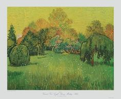 Collectable Print: Sunny Day, Arles by Vincent van Gogh : 19x23in
