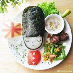 """asylum-art-2: """"  Eatzybitzy – The creative Food Art by Samantha Lee After """"Instagram Breakfast – 10 creative Food Art by Idafrosk"""" and """"Food Art – Creative and yummy pictures by Red Hong Yi"""", it is..."""