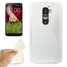 Funda LG G2 - Sline Transparente  $ 50,51
