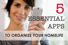 5 Essential Apps to Organize Your Home Life