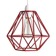 Retro Style Red Metal Basket Cage Ceiling Pendant Light Shade MiniSun http://www.amazon.co.uk/dp/B018UHFRRK/ref=cm_sw_r_pi_dp_T3E5wb0DQN37K