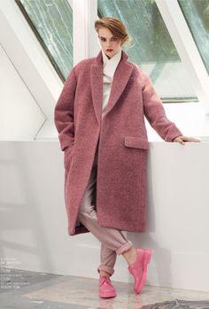 céline coat / adidas slvr pants / dr. martens shoes