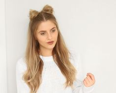 FESTIVAL HAIR TUTORIAL | SPACE BUNS - Fashion Influx
