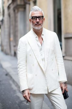 On The Street…Amo Il Lino, Milan | The Sartorialist | Bloglovin'