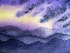 Sunset In The Mountains' - http://irina-sztukowski.artistwebsites.com/featured/sunset-in-the-mountains-irina-sztukowski.html #fineart #art #artwork #decoratehome #artgift #gift #painting #homedecor