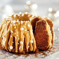 Jouluinen piimäkakku // Christmas Cake with gingerbread spices Food & Style… Christmas Desserts, Christmas Treats, Christmas Baking, Sweet Pastries, Little Cakes, No Bake Treats, Coffee Cake, Yummy Cakes, No Bake Cake