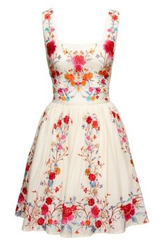 Garden dress. I want this! So beautiful -- Welcome to My website: http://www.aliexpress.com/store/919173
