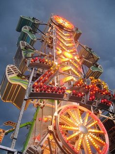 The Zipper - one of the rides resembling a torture device, Maryland State Fair, Timonium, MD (by M.V. Jantzen, via Flickr) This ride is fun as long as you don't keep flipping a billion times..