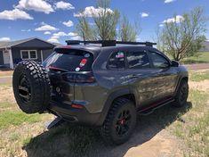 Jeep Trailhawk, Jeep Cherokee Trailhawk, Lifted Jeep Cherokee, Jeep Grand Cherokee, Jeep Mods, Jeep Suv, Jeep Cherokee Accessories, Jeep Concept, Jeep Trails
