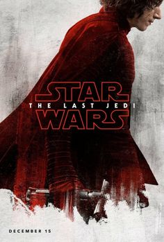 """kylorendaily:  """"Kylo Ren character poster for Star Wars: The Last Jedi  """""""
