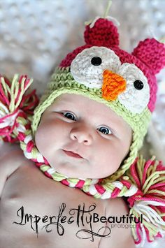 I'm not usually a huge fan of the animal hats, but this one is too too cute!