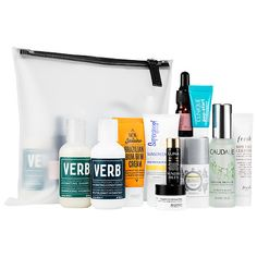Shop Sephora Favorites' The Ultimate Travel Bag at Sephora. It includes 11 must-have products for face, body, and hair.