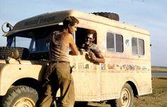 Robert Batemans unearthed vintage Land Rover to be restored