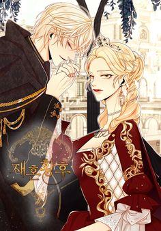 مانهوا Remarried Empress - GMANGA Fantasy Romance, Fantasy Art, Skins Characters, Fictional Characters, Online Manga, Fantasy Costumes, Cute Girl Outfits, Manhwa Manga, Shoujo