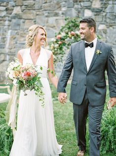 Walking and chatting, always one of my favorites! Wedding poses for bride and groom.