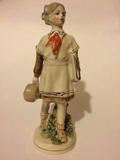 "Highly RARE Russian Soviet Porcelain Figurine ""Young Violinist"" LFZ | eBay"