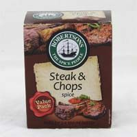 Robertsons Steak and Chops Spice Refill 160g (BEST BY 2019)