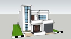 Front Elevation - 3D Warehouse