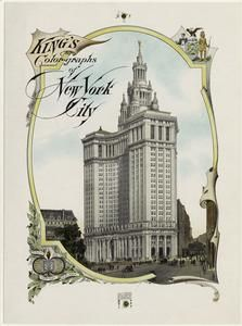 King's color-graphs of New york City 1910.