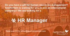 Job Description, Product Description, International Companies, Hr Management, Career Opportunities, Job S, Human Resources, Dream Job, Netherlands