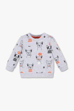 Baby Boys Kids Boston Terrier Dog Silhouette ComfortSoft Long Sleeve T-Shirt