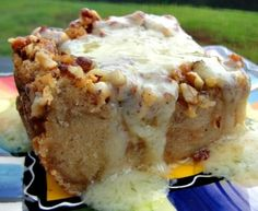 Steakhouse Chain Restaurant Recipes: Bread Pudding with Whiskey Sauce
