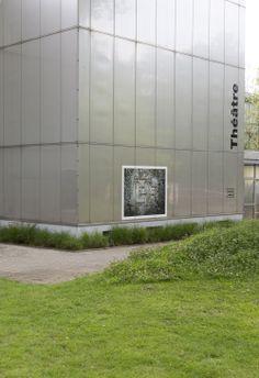 Expo 64, La naissance d'un théâtre, jusqu'au 7 juin au Théâtre Vidy-Lausanne. Vernissage du 29.04.14 © Julien Gremaud Max Bill, Lausanne, Julien, Garage Doors, Instagram, Outdoor Decor, Fiftieth Birthday, Radiation Exposure, Birth